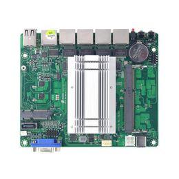 2019 hp socket 478 Tarjeta madre de doble núcleo mini puerto j1900 puerto de red seis gráficos integrados en puerto serie