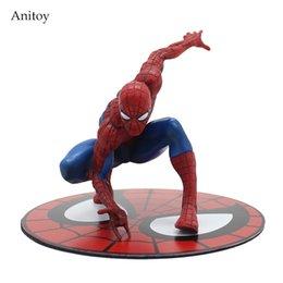 deadpool action figures pvc Promo Codes - statue spiderman ARTFX + STATUE Spiderman The Amazing Spider-man PVC Action Figure Collectible Model Toy 12cm KT3715