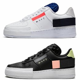 2020 chaussures de course n  2020 Type N.354 Utility 1 Classique Noir Blanc forces Hommes Femmes Chaussures de course Skateboard One Orange Skate Baskets Designer Baskets promotion chaussures de course n