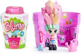 2019 детские игрушки Блюм Горшок Blind Box Подарочные упаковки Мода Сюрприз Детские игрушки Куклы Орошение волос Волшебные игрушки для детей Дети девочек Рождественский подарок дешево детские игрушки
