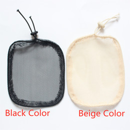 net wigs Promo Codes - Cheap Caps For Making Ponytail Spandex Net Elastic Hair Net With Glueless Hair Net Wig Liner Black beige