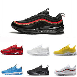 new arrival e51a2 9ff55 winter shoe boots Promo Codes - 2019 New 97 Running Shoes Black Leopards  White Pink Runner