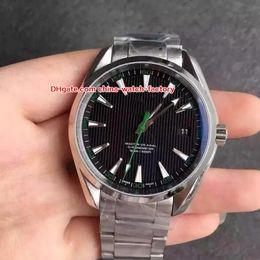 2019 relógio dos oceanos 8 Estilo de Luxo de Alta Qualidade Assista 41.5mm Aqua Terra 150 m Planeta Oceano Co-Axial Ásia Transparente Mecânico Automático Mens Watch Relógios relógio dos oceanos barato