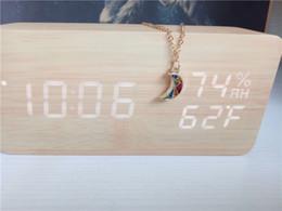 Ensembles de bijoux enfants plaqué or en Ligne-bijoux de demi-lune colorés cecmic mis en or rose chaîne collier pour enfant fille femmes