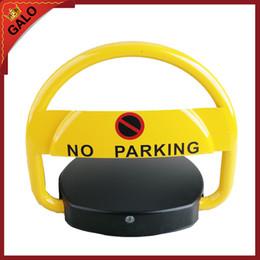 Bloccaggio automatico della barriera del posto auto 2 telecomandi No dissuasore per posto auto da cuscino della spalla del cinturino fornitori