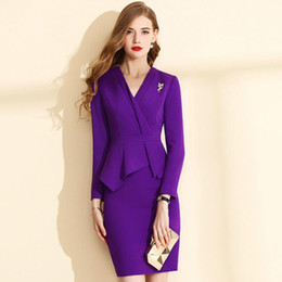 c3cc1f33db361 Discount Elegant Office Dresses Suit   Elegant Office Dresses Suit ...