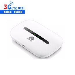 Hotspot móvel huawei on-line-Huawei Desbloqueado HUAWEI E5330 Móvel 3G WiFi Router MiFi Hotspot Dongle Modem HSPA