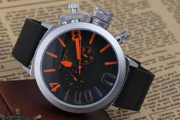 оставил часы крюк Скидка высокое качество часы мужчины navitimer a35340 черный циферблат из нержавеющей стали автоматические резиновые часы мужские левый крюк рука U дизайнер наручные часы