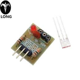 Sensore ad alto livello online-Modulo sensore ricevitore laser Tubo non modulatore Modulo sensore laser Interruttore relè Livello alto basso livello per Arduino