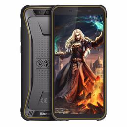 "Câmera blackview on-line-Original Blackview BV5500 Pro Smartphone IP68 À Prova D 'Água 5.5 ""HD + Android 9.0 3 GB RAM 4G Telefone Móvel 8.0MP Câmera NFC Telefone Celular Robusto"