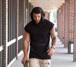 Американская броня онлайн-Тренажерный зал Muscle Brothers Мужской Доспех Новая Шляпа Без Рукавов Евро-Американская Многокарманная Мужская Броня Куртка Один Заменитель Волос