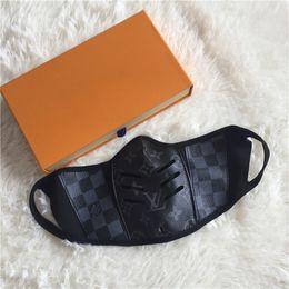 esqueleto de círculo branco inverno Desconto 2020 designer de máscara facial anti poeira máscaras de proteção em estoque cover letter logo boca de alta qualidade
