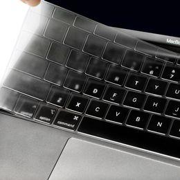 capa de capa de silicone macbook pro Desconto Para a Apple Macbook pro13 / 11Air 13/15 Retina12 polegadas All caso tampa do teclado série de silicone transparente filme protetor de clara UE / EUA
