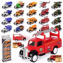 spielzeug-modell feuerwehrauto Rabatt 1:55 Farmer Truck Legierung Modell Spielzeug fünf Anzug Engineering Militär Feuer Auto Modell Spielzeug Kinder DIY Roller Weihnachten Geburtstagsgeschenk Großhandel
