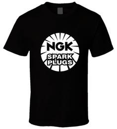 Argentina NGK Spark Plugs 4 New T ShirtMen Women Unisex Fashion camiseta Envío Gratis cheap plug ngk Suministro