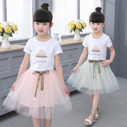 2019 Summer Girls Dresses Solid Short Sleeve Pink Cotton Kid Dress For Girl  Casual Regular Knee-length Children Clothes Ds625 3ff84956e632