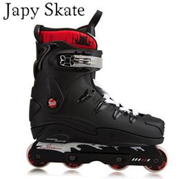 2019 buenas zapatillas de skate Japy Skate FSK EXTREMO Bluce Patines en línea Zapatillas de patinaje estilo de calle Patines FSK Extremadamente buenos Hombres Zapatos atléticos rebajas buenas zapatillas de skate