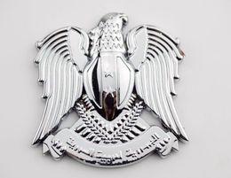 alfa romeo vinyl Promotion Emblème voiture métal Aigle Logo Decal Badge aigle Auto Body Trail syrien autocollant