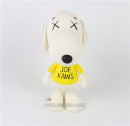 2019 ursinho de peluche preto e rosa Brinquedos da moda New kaws Original Falso Joe Kaws cão medicom brinquedo presente para namorado kaws Original Fake