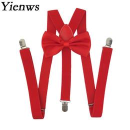 Bowtie Hosenträger für Frauen Rot Rosa 3 Clip Hosen Fliege Hosenträger Weibliche Hochzeit Bretels Dames 2,5 * 100 cm YiA077 von Fabrikanten