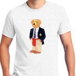 Canada New Ralph Laure Polo Bear Vêtements Hommes T-shirt taille S-2XL Hommes Femmes Unisexe Mode tshirt Livraison Gratuite supplier orange bear clothing Offre
