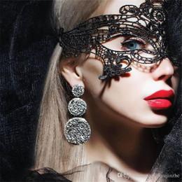 Máscara de encaje recorte negro sexy negro fresco flor máscara de ojo para mascarada fiesta máscara disfraces disfraces fiesta de Halloween disfraces DH202 desde fabricantes