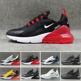 Nike Air Max 270 2020 OG Cuscino e Damping Rubber esecuzione di scarpe da tennis Light Weight 27C Olimpiadi mesh traspirante Damping Athletic Shoes