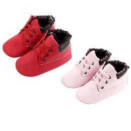 Argentina Recién nacido Infant Toddler Baby Boys Girls Niños Zapatos Zapatos con cordones antideslizantes Botas Suministro