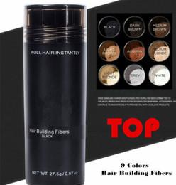 27.5g Üst Saç Bina Lifleri Şekillendirici Toz Kapatıcı Uzatma Şekillendirici Toz Keratin Anında Lifler Saç Sprey DHL Ücr ... nereden saç dökülmesi inceltme işlemi tedarikçiler