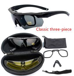 стрельба Скидка Военная версия cs пуленепробиваемые очки спецназ стрельба специальные очки взрывозащищенные тактические очки близорукость открытый солнцезащитные очки