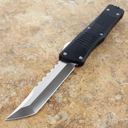 coltello da tasca drago Sconti Drago da combattimento hellhound 440 lama T6061 manico pieghevole lama fissa colletto Coltellino tascabile Regalo di Natale C06 Zanna