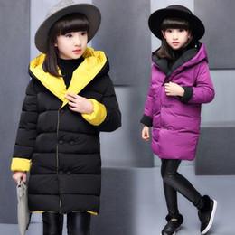 2020 coreano moda crianças inverno casacos Algodão Moda MENINA Kids' casaco de 2018 New Style Coreano de estilo Casaco de Inverno Big Boy Algodão MENINA reversível desconto coreano moda crianças inverno casacos