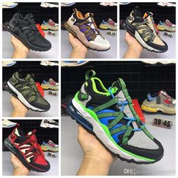 zapatilla sneaker Sconti bowfin Scarpe da uomo Athletic Zapatillas Hombre Walking Scarpe da design Verde nero Sneakers Eur 40-45