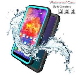 Caso ip68 online-Custodia rigida antiurto originale Redpepper Waterproof IP68 Underwater 2m Life Resistente agli urti per iphone XR XS Max X S9 S10 Plus Nota 9