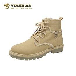 Inverno Stivaletti Uomini Sneakers alte scarpe comode piatto di alta qualità di moda scarpe di tela Casual Boots antiscivolo Uomo