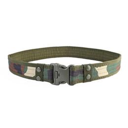 ceinture tactique en nylon noir Promotion Ceintures de combat robustes en plein air en nylon réglable Black Hawk de l'armée de camouflage pour hommes