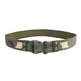 taktischer schwarzer nylongürtel Rabatt Camouflage Mens Army Tactical Belt Verstellbares Nylon Black Hawk Outdoor Heavy Duty Combat Belts