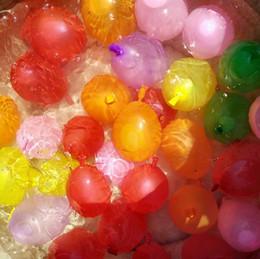 2019 décorations de mariage violet foncé Ballons de jeux d'eau de plage de vente chaude ventes en plein air ballon d'eau jouet incroyable magie ballons d'eau bombes jouets pour enfants enfants d'été