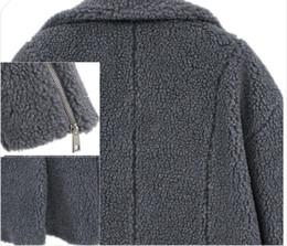 Womens Warm Jacket Otoño e invierno Nueva llegada Cashmere Manga larga  Color sólido Abrigo largo Abrigos de lana a507302ed5a7
