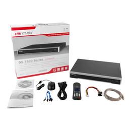 Argentina hikvision 4k POE NVR DS-7604NI-K1 / 4P DS-7608NI-K2 / 8P compatible con 8mp cámara IP cctv sistema de vigilancia de seguridad red grabador de video Suministro