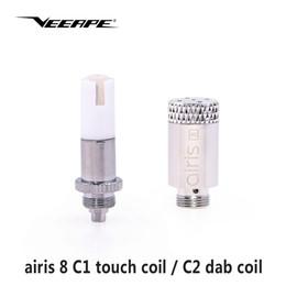 5 pcs original en gros airis 8 C1 tactile bobine C2 dab bobine électronique cigarette atomiseur noyau pour Airistech Airis 8 dab Dip vape ? partir de fabricateur