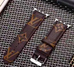 2019 cassa impermeabile brandnew del telefono Luxury Apple Watch Straps Designer Apple Watch Band Iwatch 38 / 40mm 42 / 44mm Iwatch 2 3 4 Bands Leather Brand IWatch Cinghie