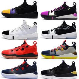 new concept 83789 0f82d 2019 Kobe Bryant AD EP Mamba Tagessegel Multicolor Herren Basketball Schuhe  Wolf Grau Orange Schwarz Weiß Herren Trainer Sport Sneakers Größe 40-46