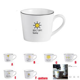 Tazza di ceramica all'aperto della prima colazione del latte della tazza della personalità dell'ufficio della tazza di acqua dell'automobile da decorazioni di calice fornitori