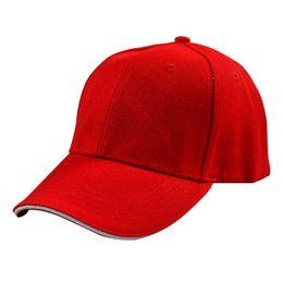 простые черные бейсболки Скидка Унисекс 6 Панель Обычная Бейсболка Основной Изогнутый Козырек Snapback Красный Черный Розовый Коричневый Оранжевый Различные Сплошные Цвета