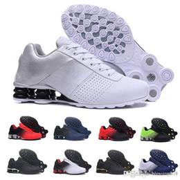 2019 homens, correndo, sapato, shox nike Tn plus shox 2019 Shox Entregar 809 Homens Air Running Shoes Transporte Da Gota Atacado Famoso DELIVER OZ NZ Mens Tênis Esportivos Tênis Esportivos homens, correndo, sapato, shox barato