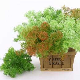 пластиковый искусственный мх Скидка Искусственный пластик Мосс трава растение дерево искусственная трава домашний офис ну вечеринку мебель украшения праздничные атрибуты оптом