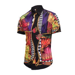 2019 camisas polo padronizadas T-shirt italiana camisa de verão polo camisa masculina de manga curta roupas e padrão padrão de moda designer verão polo tamanho da camisa desconto camisas polo padronizadas