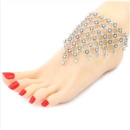 Fußschmuck online-E2 Beach Dance Retro-skulpturierte Fußkette mit quastenförmigen Fußornamenten, Damen-Fußkettchen, Fußkettchen-Armband, Fußkettchen-Schmuckkette