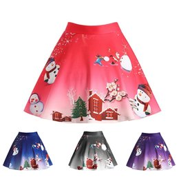A Strati Volant Mini Skort Da Donna Vita Alta Celeb Festa di Natale Gonna pantaloncini a buon mercato